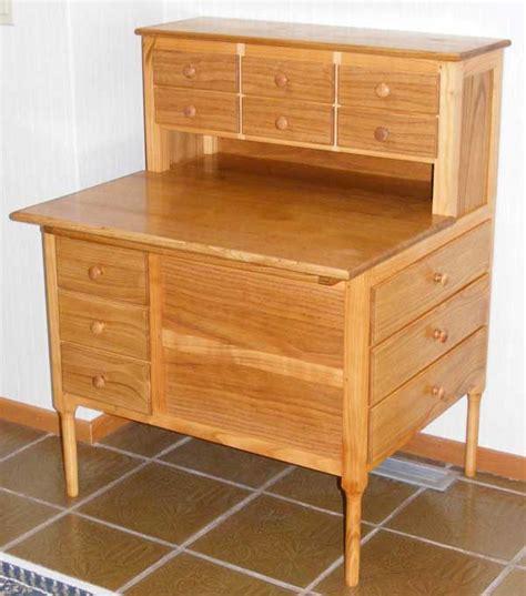 shaker sewing desk woodworking blog  plans