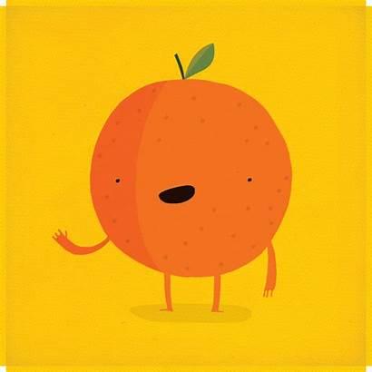 Orange Smell Reminds Animated Gifer Medium Yup