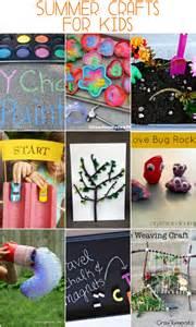 Easy DIY Summer Crafts for Kids
