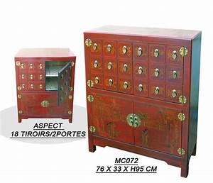 Meuble Chinois Rouge : meubles archives page 2 de 2 aux merveilles d 39 asie ~ Teatrodelosmanantiales.com Idées de Décoration