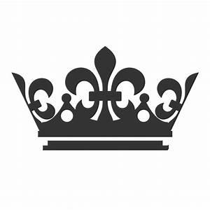 King Crown Logo Black