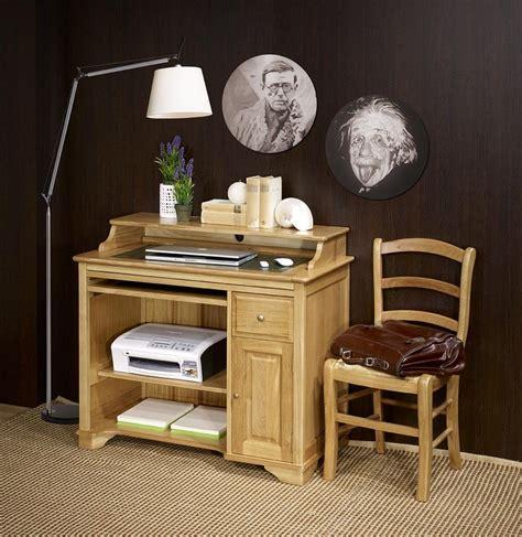 petit meuble bureau petit bureau informatique emeric en chêne de style louis
