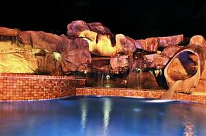 Landscape Lighting Annapolis Md Waterfall Construction Stone Surface Annapolis Md Br