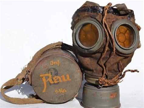 ww  german gas mask authentic