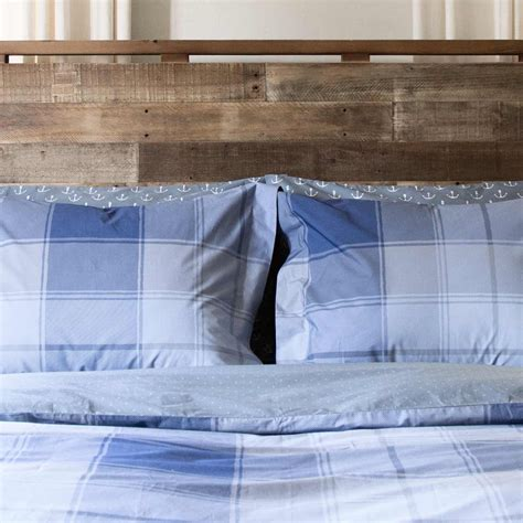 Madras Duvet by Madras Plaid Cotton Percale Duvet Cover Blue Charcoal