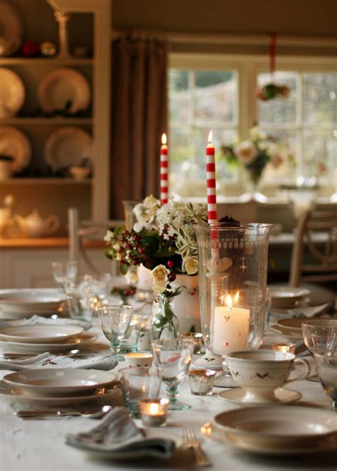 Christmas Holiday Tablescape Dining Room Decor Ideas