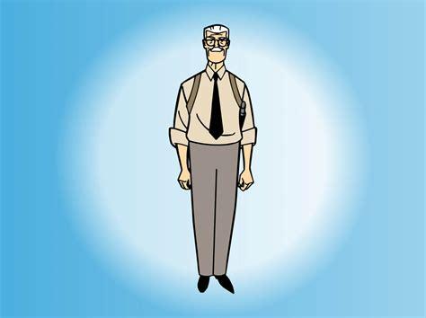 Cartoon Old Man Vector Art & Graphics