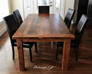 25 best ideas about reclaimed wood tables on pinterest With best wood for dining room table