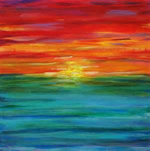 Sunset Rainbow Ombre