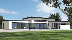 Maison Architecte Plain Pied : r alisation maison plain pied maisons maison plain pied maison moderne plain pied et maison ~ Melissatoandfro.com Idées de Décoration