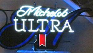Michelob Ultra ficial PGA Beer Golf Logo Neon Bar Light
