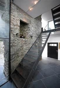 Treppe Mit Glasgeländer : treppe idee stein home design ideen ~ Sanjose-hotels-ca.com Haus und Dekorationen