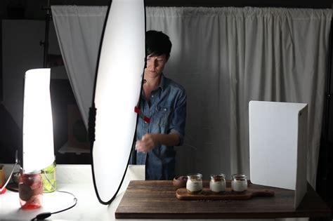 shooting tips cheap artificial lighting  food photography