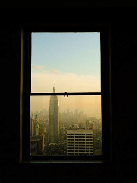 New York City Window View