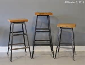 Vintage Wood And Metal Bar Stools by Awesome Industrial Style Bar Stools Homesfeed