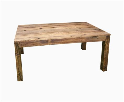 Buy a Handmade Reclaimed Antique Wood Parsons Table, made to order from The Strong Oaks Woodshop