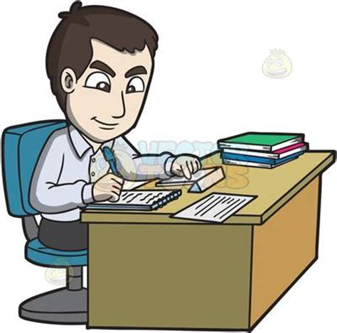 Office Clip Office Worker Clipart 101 Clip