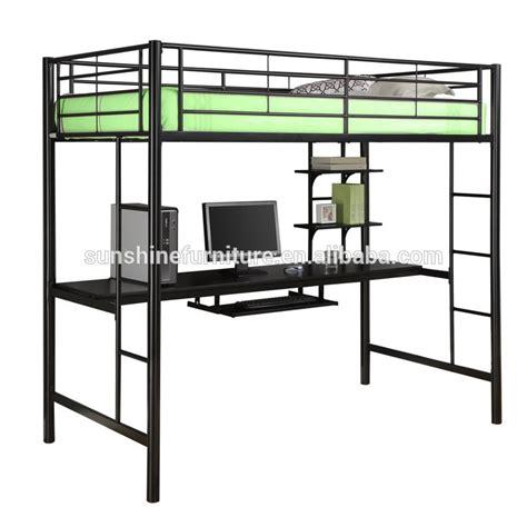 twin metal loft bed with desk kids bedroom furniture black metal twin loft bed with desk