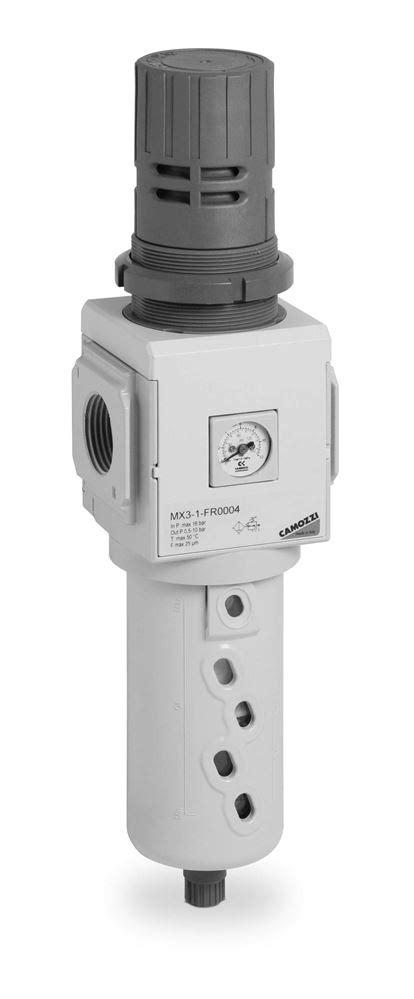 Series MX3 Filter Regulators - Camozzi Automation Ltd