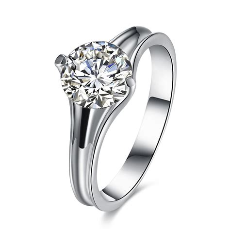 Zircon Platinum Plated Wedding Gift Finger Rings  Alexnldm. Cute Flower Engagement Rings. Bridegroom Wedding Rings. Welding Engagement Rings. Brown Diamond Rings. Boy's Rings. Goldengagement Engagement Rings. Connected Chain Rings. 30 Thousand Dollar Engagement Rings