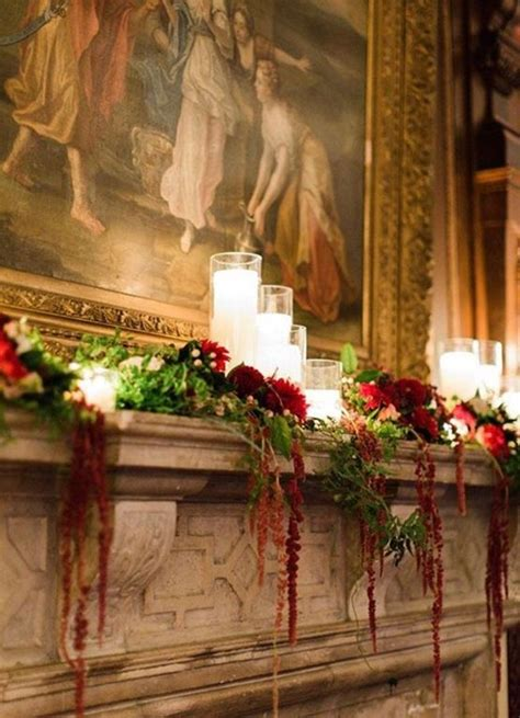 images  christmas mantels  pinterest