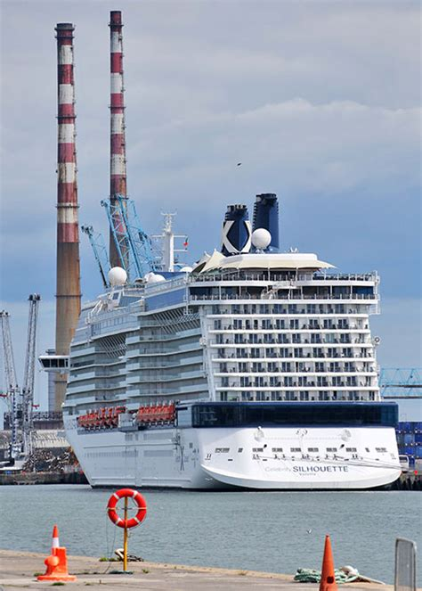 Cruise Ships Dublin Port - Spectacular Photos Of Departure