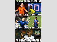 WORLD CUP TOP SCORERS So Far Troll Football