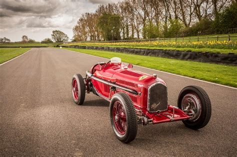 Alfa Romeo Car : Vintage South African Gp Alfa Romeo Under The Hammer