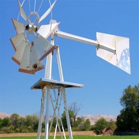 small windmill   home garden