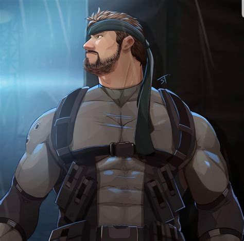 Solid Snake By Jojiart Gaymers