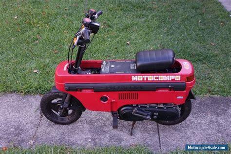 Honda Motocompo   ncz50 for Sale in Australia