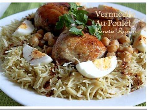 les meilleures recettes de vermicelle et poulet