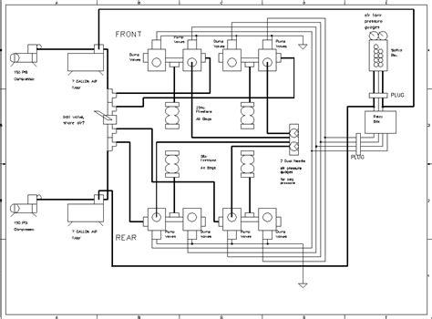 Wiring Diagram For Air Bag Suspension by Air Suspension Diagrams Rod Forum Hotrodders