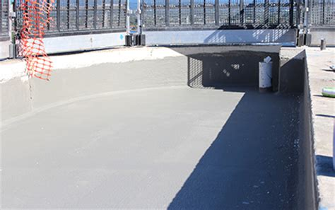 waterproofing concrete planters waterproofing of planter boxes