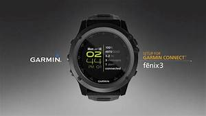 Fnix 3 Syncing Your Smartphone With Garmin Connect YouTube