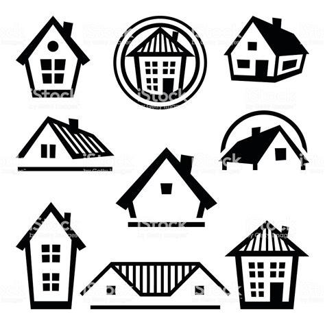 house logo templates set  real estate design concepts