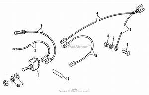 Simplicity 2109593 - Snowthrower Model 64 Parts Diagram For Electrical  U0026 Instruments