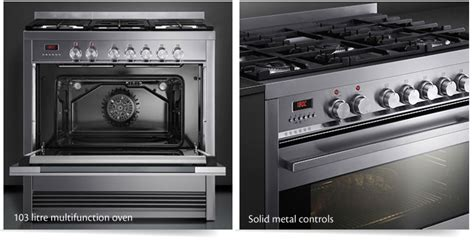 New Fisher & Paykel Cm Range Cooker With A Professional