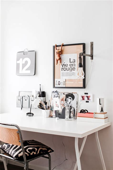 bureau office cozy scandinavian home 79 ideas
