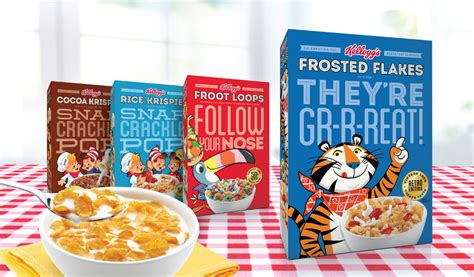 KELLOGGS LIMITED EDITION CEREAL PACKAGING - Anthem
