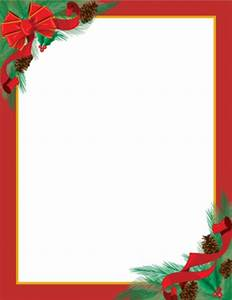christmas letterhead on pinterest letterhead stationery With christmas letter stationery templates