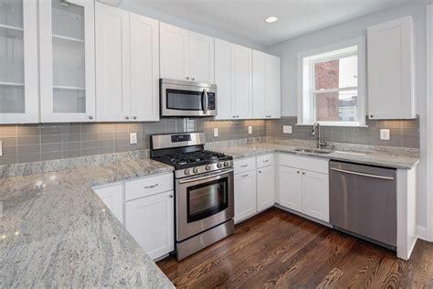Fresh Furniture Granite Countertops With White Cabinets