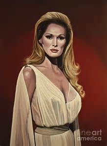 greeting card app ursula andress 2 painting by paul meijering