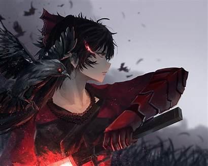 Raven Rwby Branwen Anime Fanart Fan Pixiv