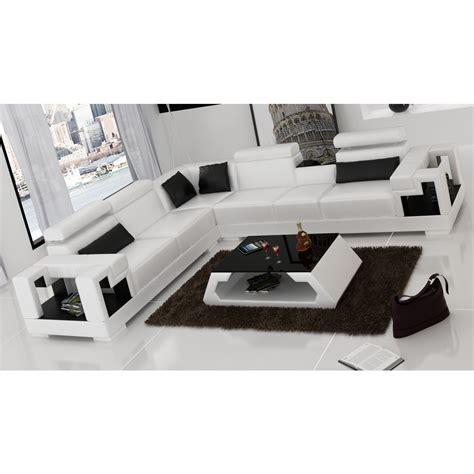 canapé angle en cuir canapé d 39 angle en cuir maestro canapés