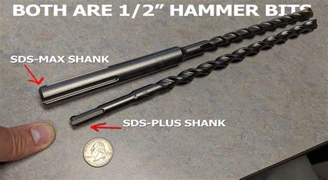 Hammer Drill Bits  SDS vs SDS Plus vs SDS Max vs