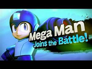 Super Smash Bros Mega Man Joins The Battle YouTube