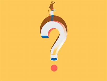 Question Animated Questions Mark Know Don Dribbble