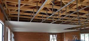 Pose De Faux Plafond : pose de plafond maison travaux ~ Premium-room.com Idées de Décoration