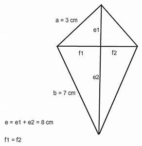 Diagonale Eines Quadrats Berechnen : h he und oberfl che eines prisma mit deltoider grundfl che ~ Themetempest.com Abrechnung